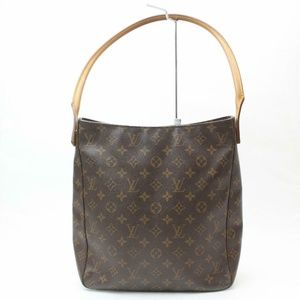 Auth Louis Vuitton Looping Gm Bag #900L27